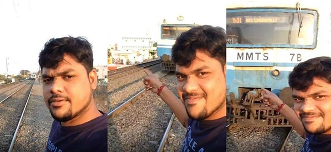 So machen Sie sicher ein Selfie (ohne von einer Klippe zu fallen oder von einem Auto angefahren zu werden)