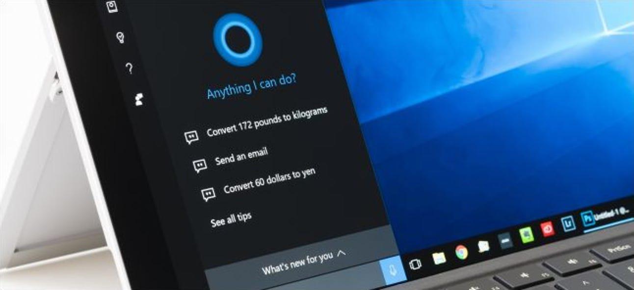 Warum gibt Microsoft Cortana nicht einfach auf?