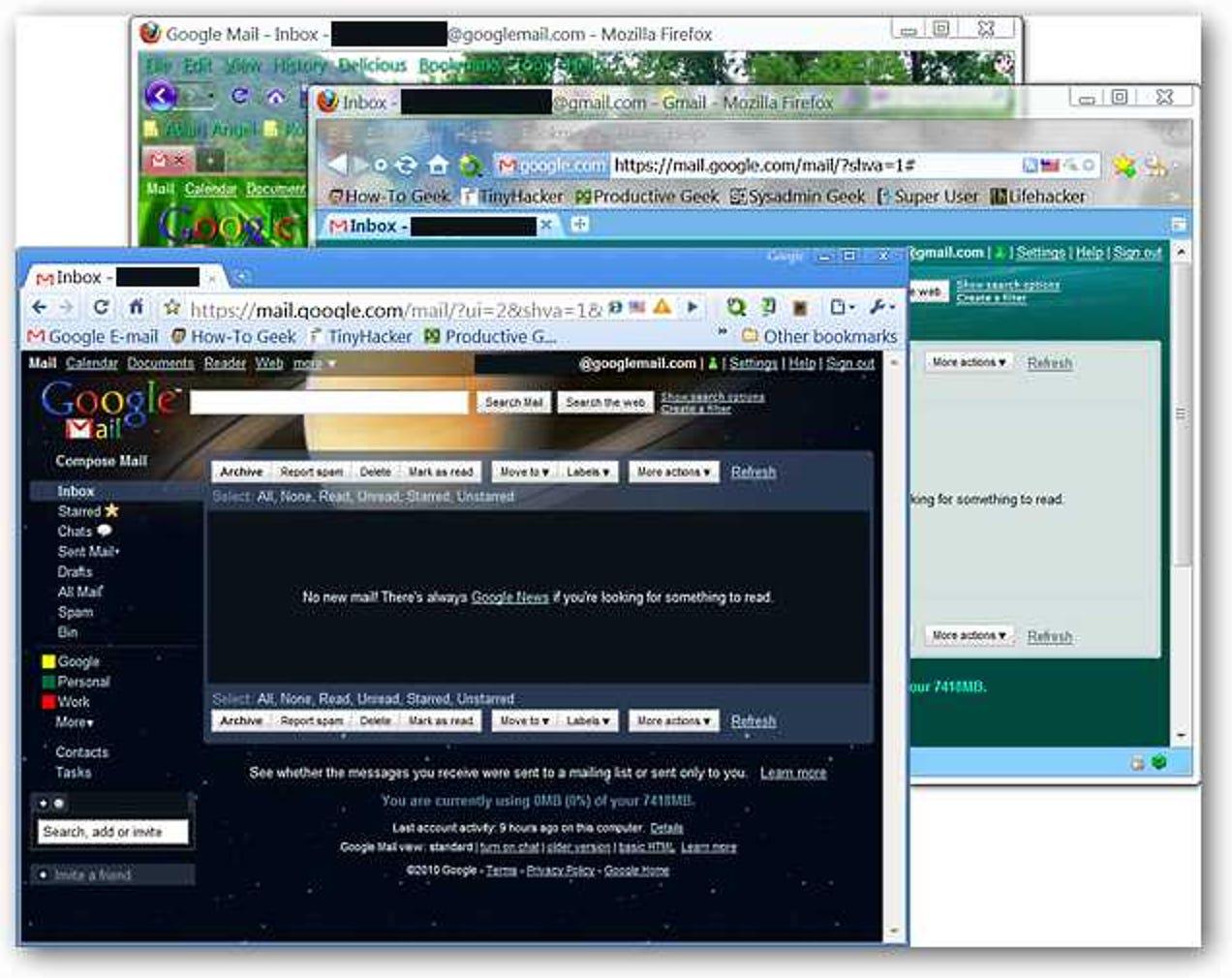 Melden Sie sich in Firefox bei mehreren Same-Service-Konten an