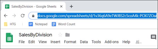 Wählen Sie die URL aus und kopieren Sie sie in Ihre Zwischenablage.