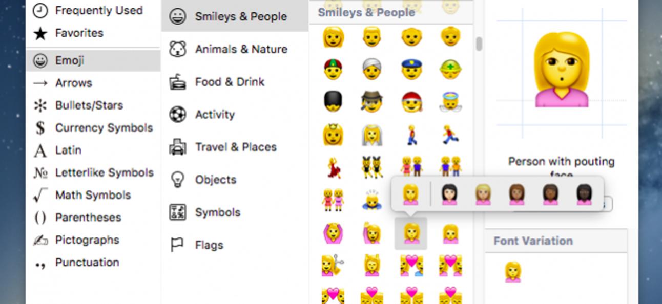 So ändern Sie Emoji-Hauttöne auf iPhone und OS X
