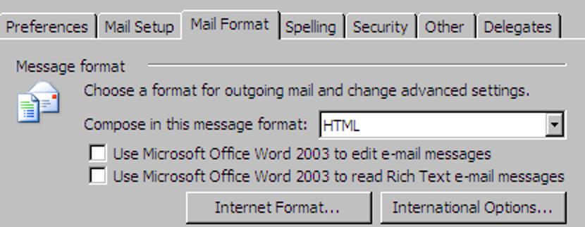 Erstellen Sie eine E-Mail-Vorlage in Outlook 2003