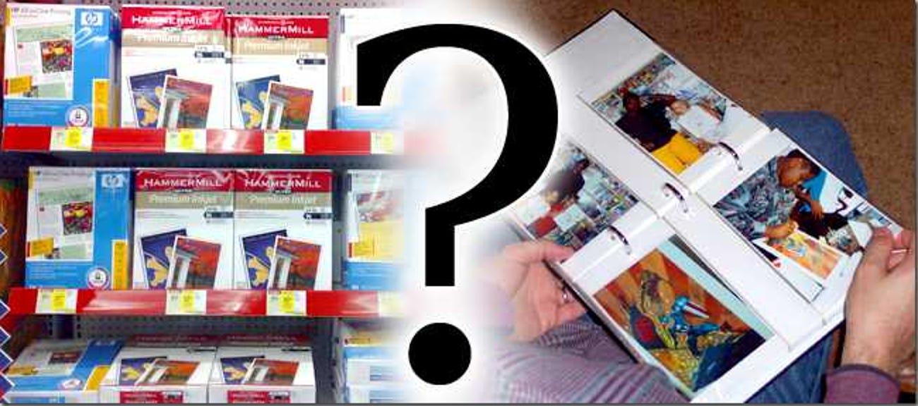 Warum verbessert Fotopapier die Druckqualität?