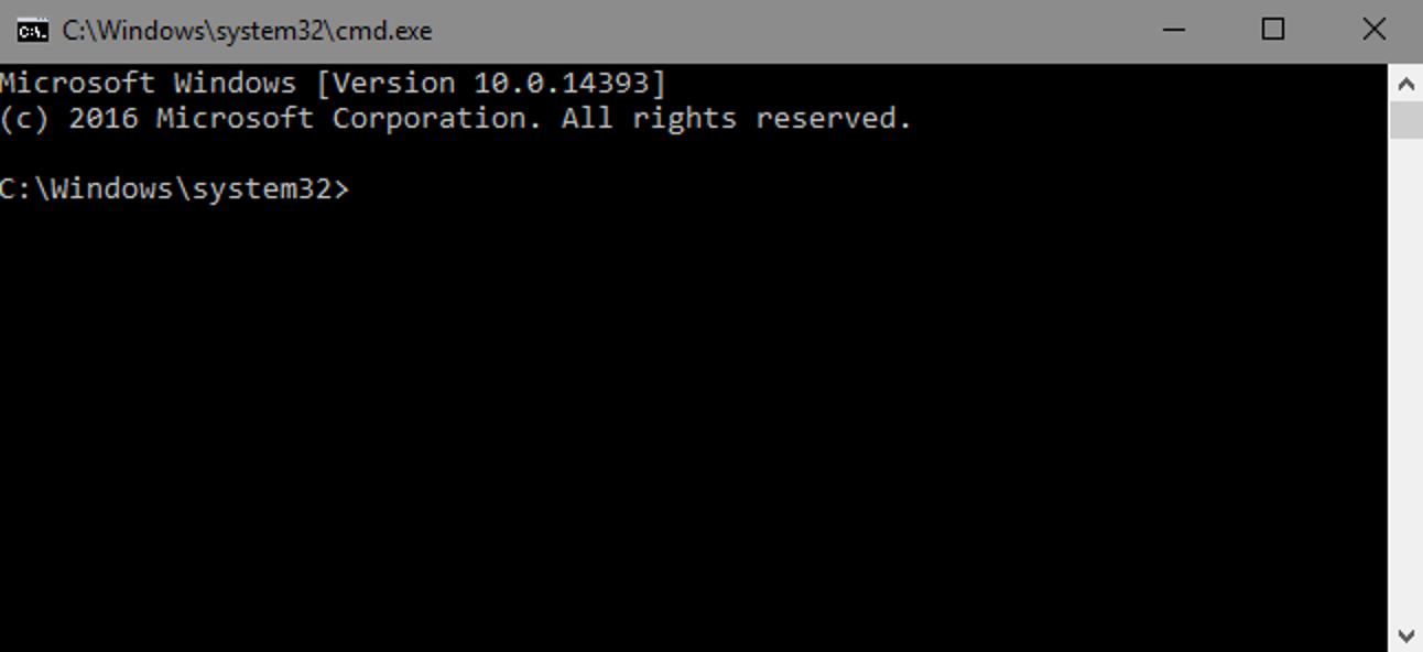 So führen Sie Eingabeaufforderungsbefehle über eine Windows-Verknüpfung aus