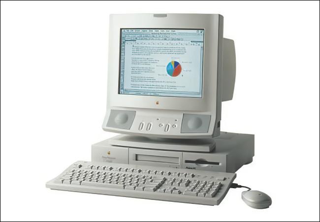 Ein Apple Power Macintosh 6100.