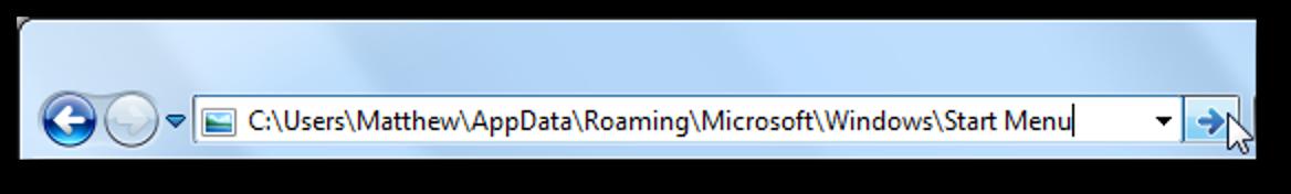 Fügen Sie den Papierkorb zum Startmenü in Windows 7 hinzu