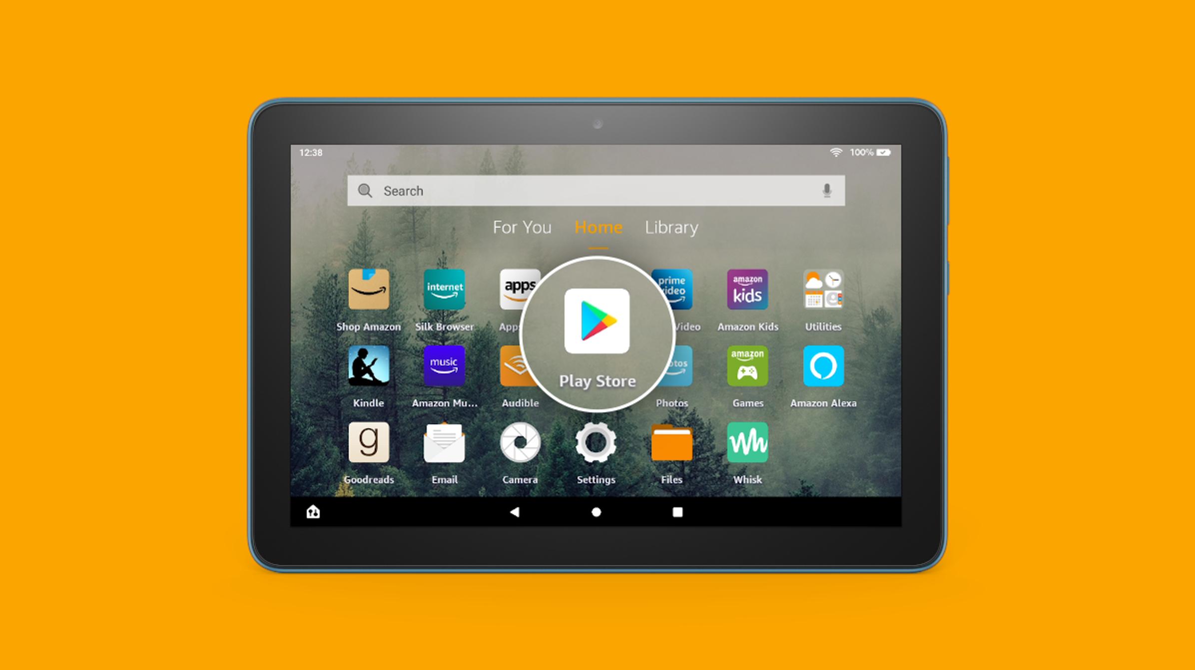 So installieren Sie den Google Play Store auf einem Amazon Fire Tablet