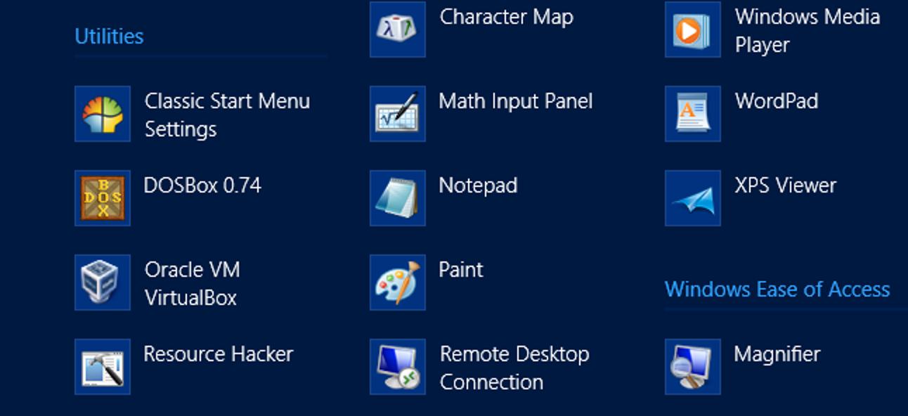 So organisieren Sie die Liste aller Apps unter Windows 8