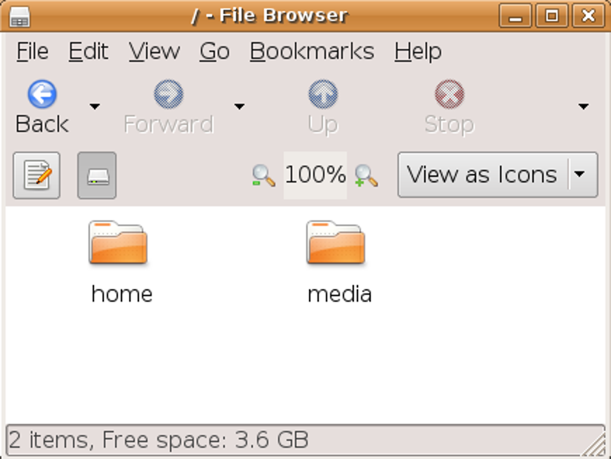 Versteckte Dateien und Ordner im Ubuntu-Dateibrowser anzeigen