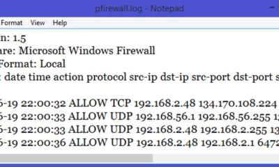 So verfolgen Sie die Firewall-Aktivität mit dem Windows-Firewall-Protokoll