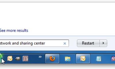 So teilen Sie Dateien und Drucker zwischen Windows 7 und Vista