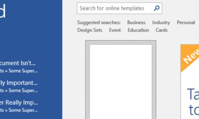 So löschen oder deaktivieren Sie die Liste der zuletzt verwendeten Dokumente in Microsoft Word 2016