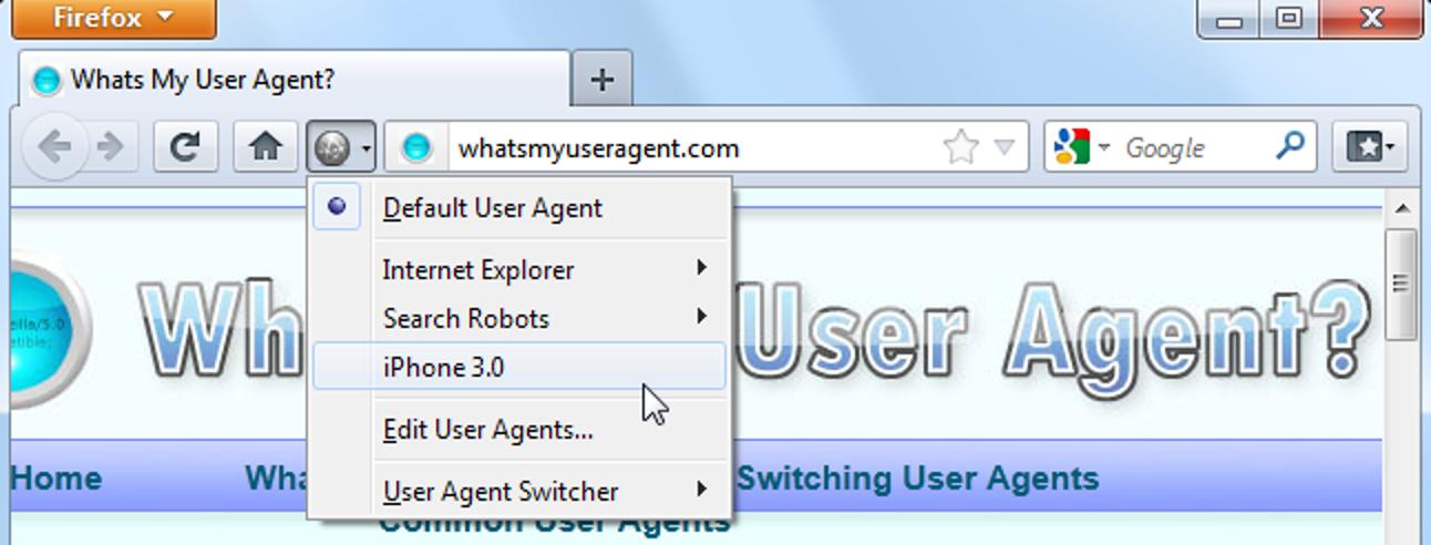 Was ist der User Agent eines Browsers?