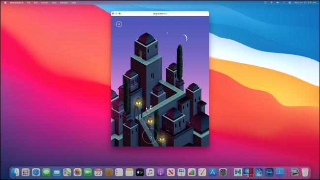 """""""Monument Valley 2"""" läuft auf macOS über Rosetta 2."""