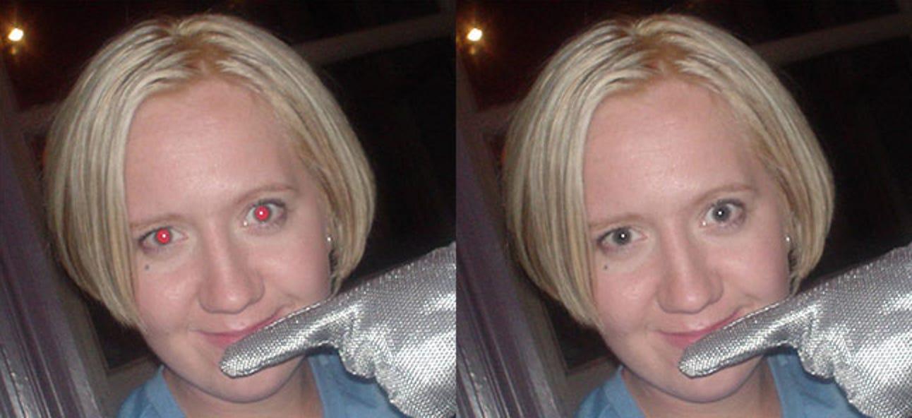Rote Augen in Photoshop reparieren
