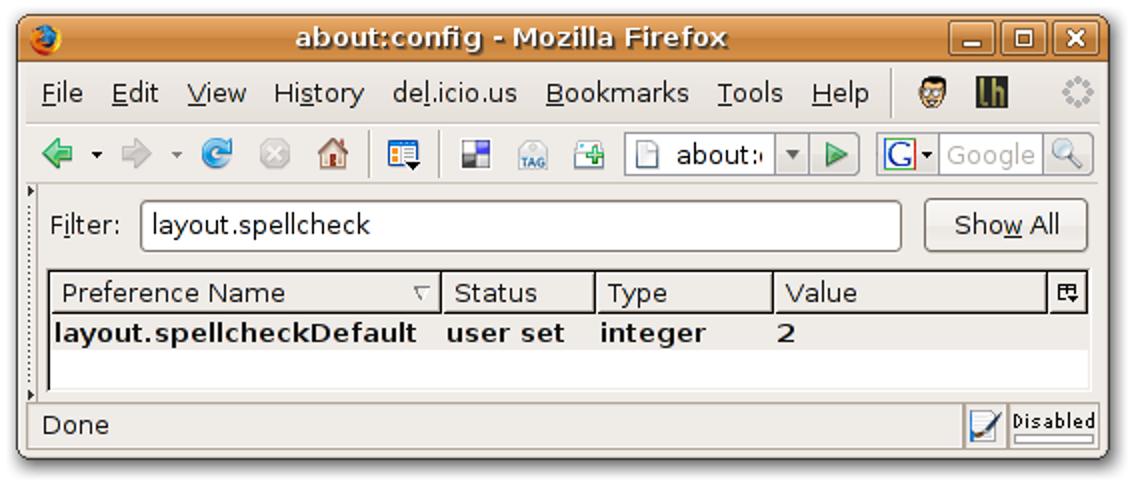 Rechtschreibprüfung Firefox Texteingabefelder