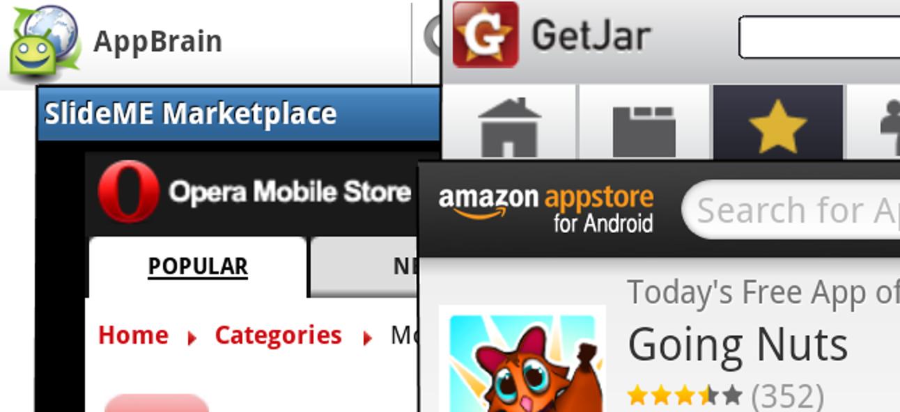 Die Top 5 Alternativen zum Android Market