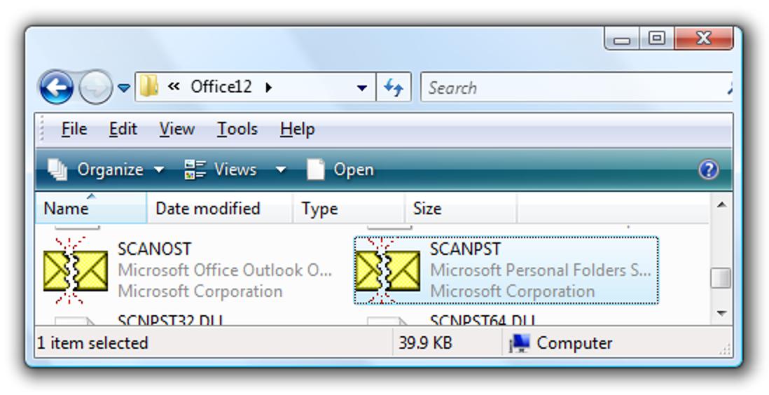 Reparieren Sie Ihre defekte Outlook-Datei für persönliche Ordner (PST)