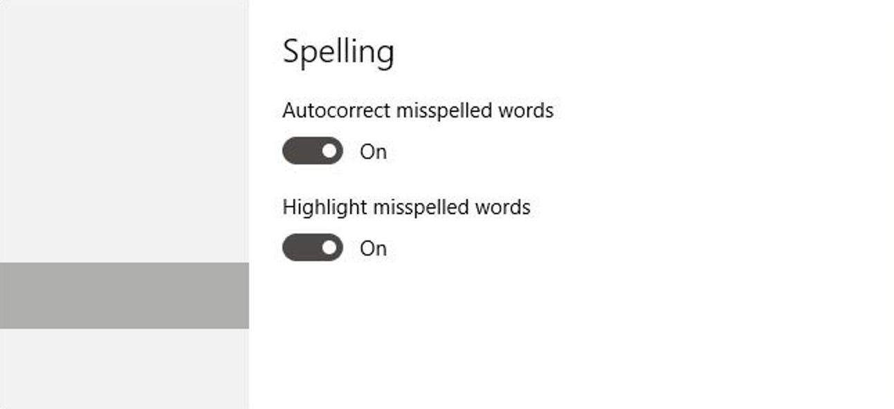 So deaktivieren Sie die Autokorrektur in Windows 10