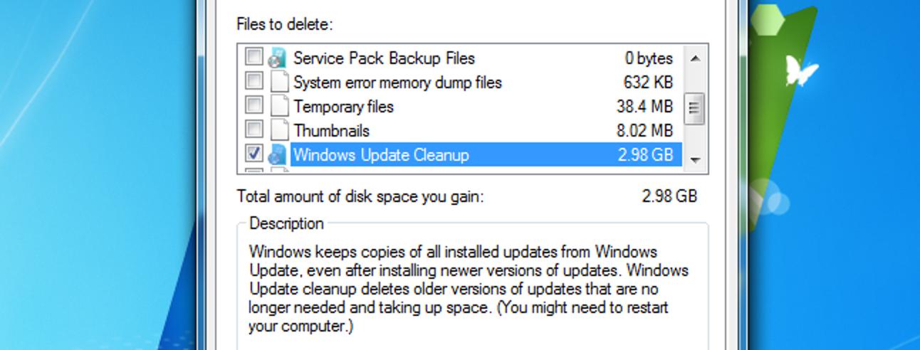 So reduzieren Sie die Größe Ihres WinSXS-Ordners unter Windows 7 oder 8
