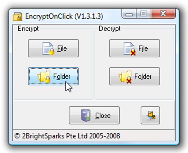 Verschlüsseln Sie Dateien und Ordner mit nur wenigen Klicks