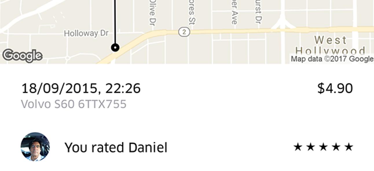 Welche Bewertung sollten Sie Ihrem Uber-, Lyft- oder anderen Fahrer geben?