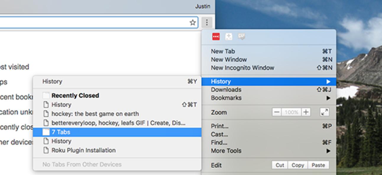 """So stellen Sie Ihre Chrome-Tabs wieder her, wenn es keine Schaltfläche """"Letzte Sitzung erneut öffnen"""" gibt"""