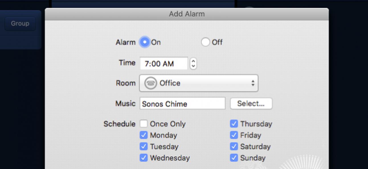 So verwenden Sie Sonos als Wecker oder Sleep-Timer