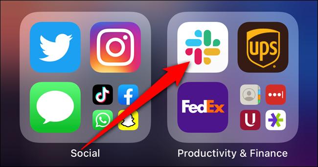 Drücken Sie lange auf eine App, die sich bereits auf Ihrem Startbildschirm befindet