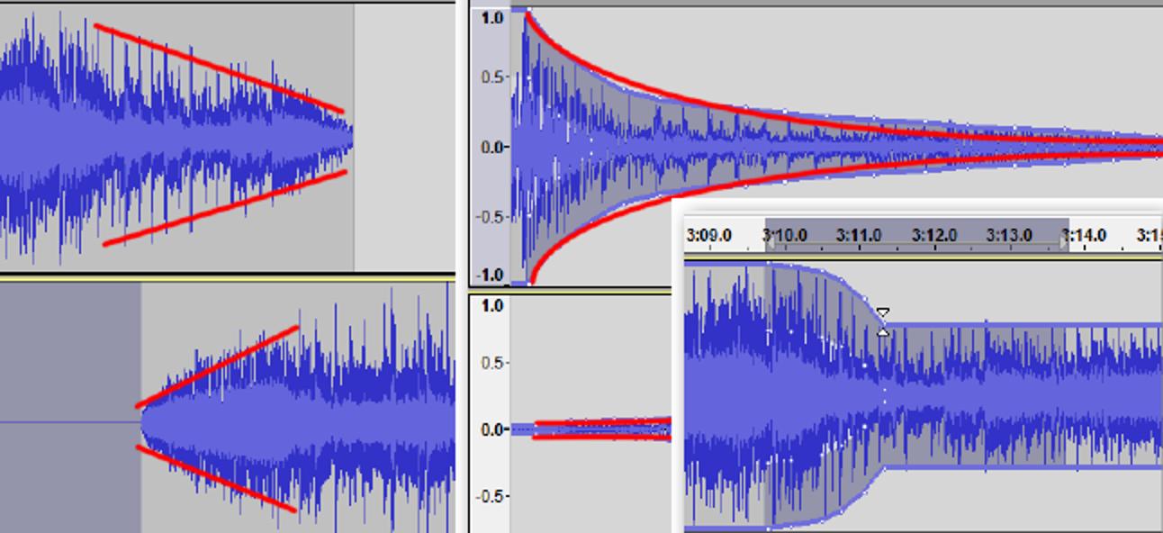 So verwenden Sie Crossfade in Audacity für nahtlose Übergänge zwischen Audiospuren