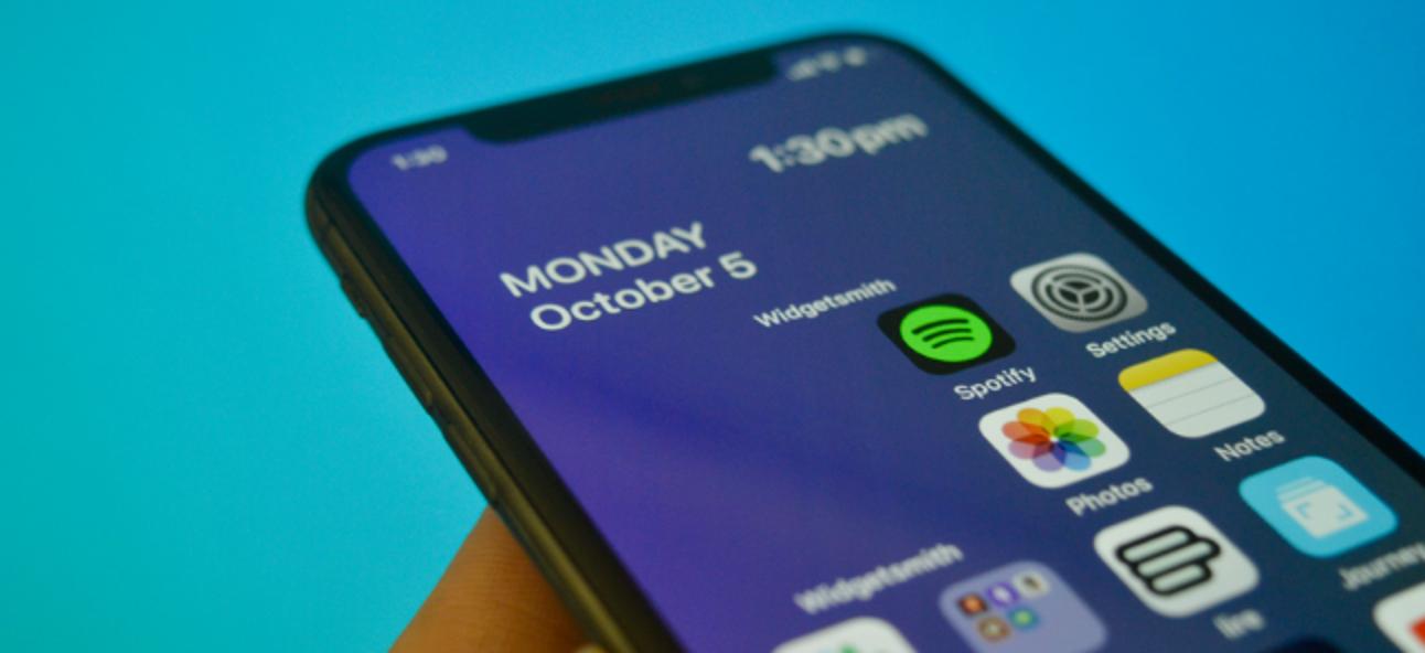 So erstellen Sie Widgets mit transparenten Hintergründen auf dem iPhone