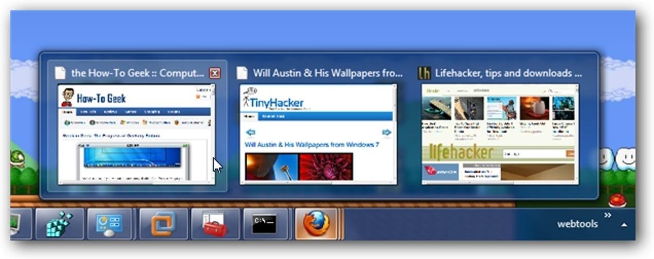 Die illustrierte Anleitung zur neuen Firefox 3.6 Windows 7-Integration