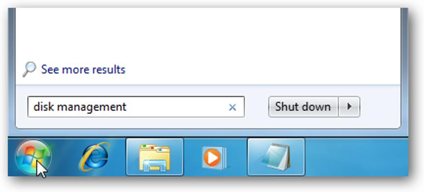 Dual-Boot Ihres vorinstallierten Windows 7-Computers mit Vista