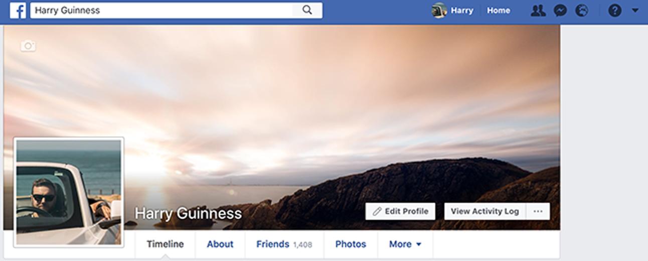 So erstellen Sie das perfekte Facebook-Titelbild