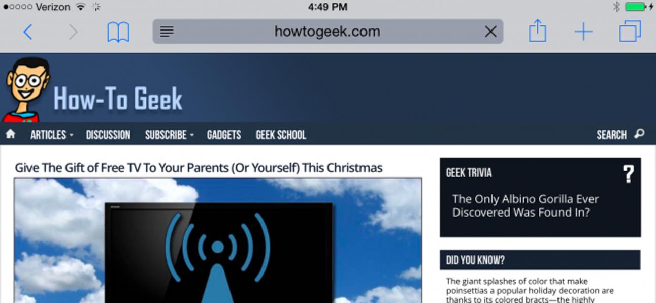 So löschen Sie Cookies / Cache für eine einzelne Website auf dem iPhone oder iPad