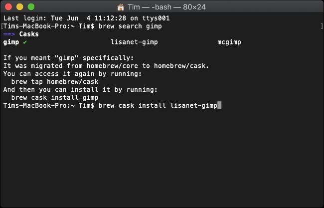 Software mit Homebrew für macOS installieren