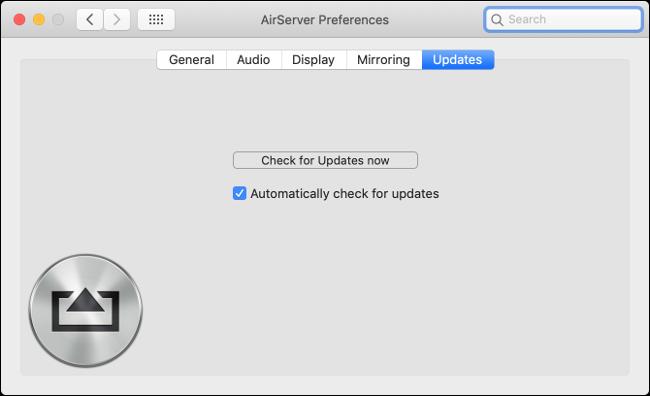 AirServer-Kernel-Erweiterung aktualisieren