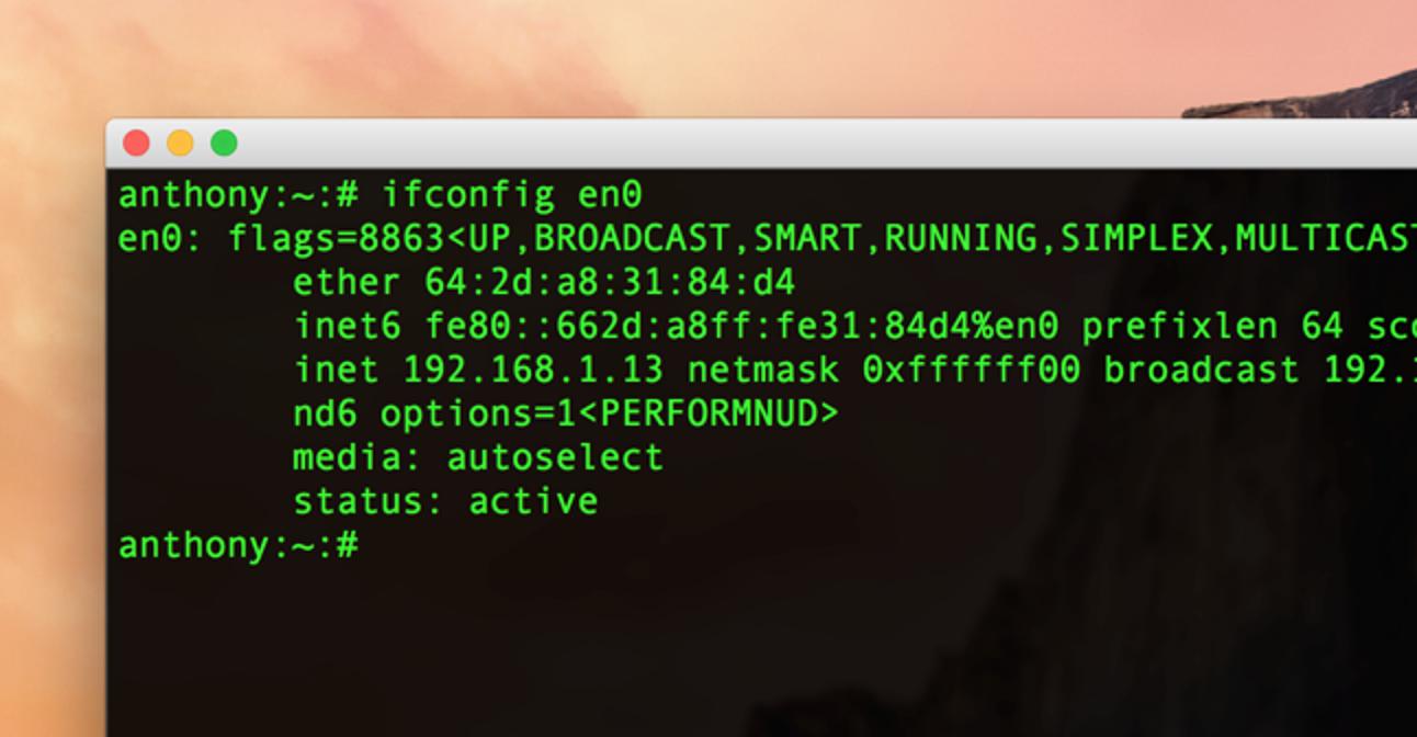 So finden und ändern Sie Ihre MAC-Adresse unter OS X