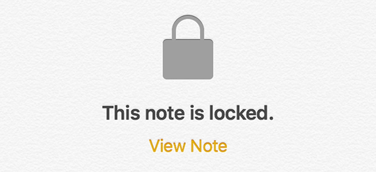 So schützen Sie Notizen auf dem iPhone mit einem Kennwort