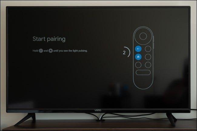 Koppeln Sie Ihre Fernbedienung mit Chromecast mit Google TV