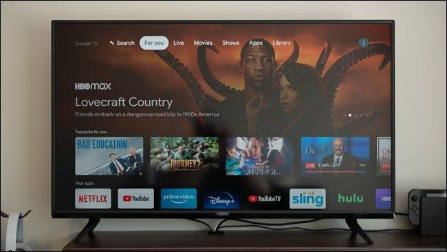 Ihr Chromecast mit Google TV ist eingerichtet