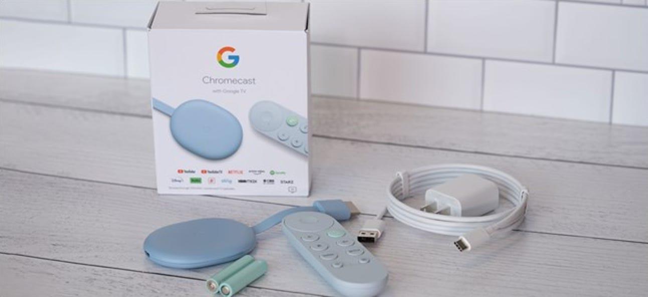 So richten Sie Ihren Chromecast mit Google TV ein