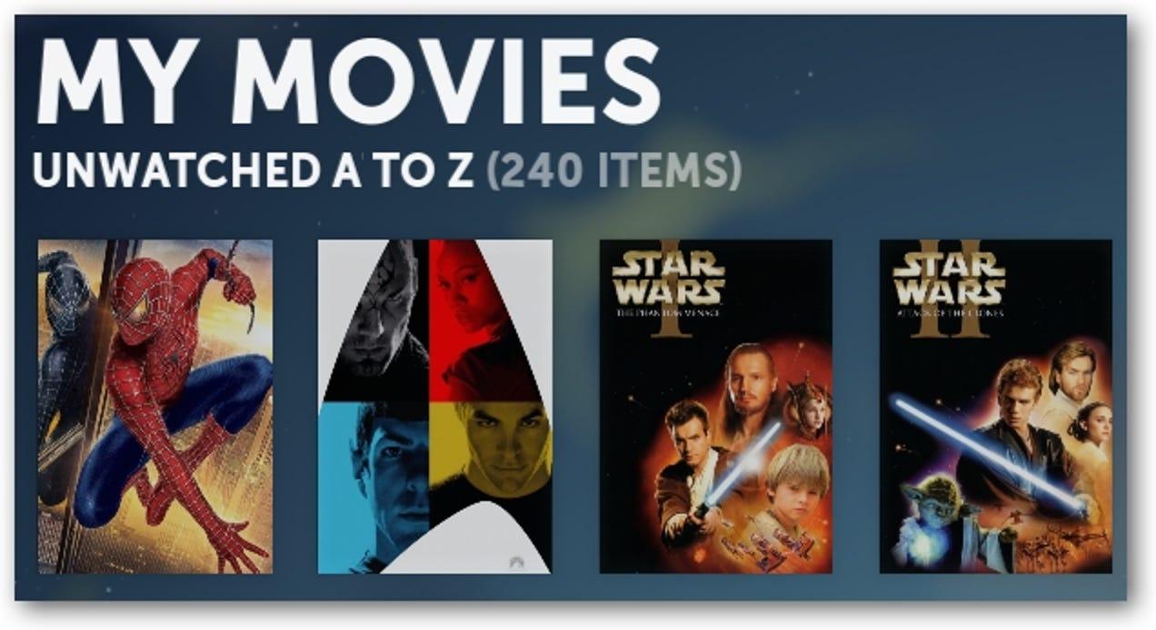 So verwalten Sie Ihre Filme in Boxee