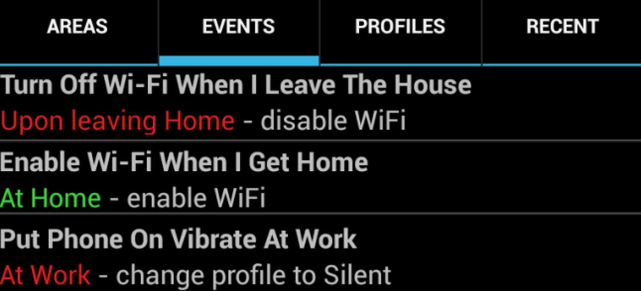 Verwenden Sie Lama, um die Einstellungen Ihres Android-Telefons basierend auf Ihrem Standort automatisch zu ändern