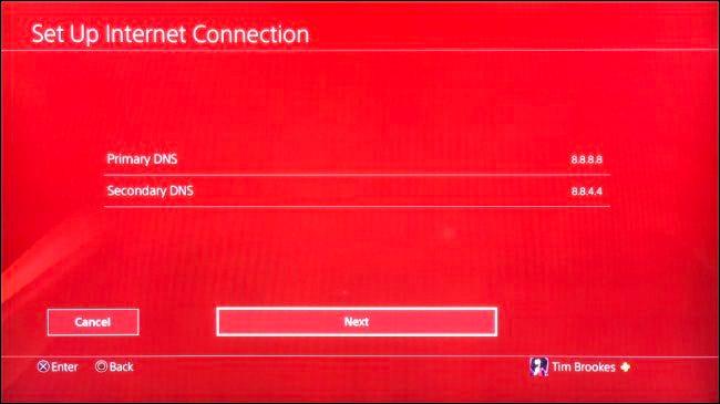 Benutzerdefiniertes DNS für PS4 einrichten
