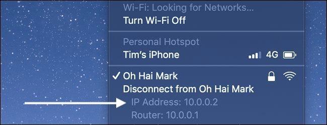 So finden Sie die IP-Adresse auf einem Mac