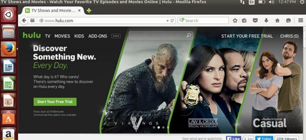So sehen Sie Hulu auf Ubuntu und anderen Linux-Distributionen