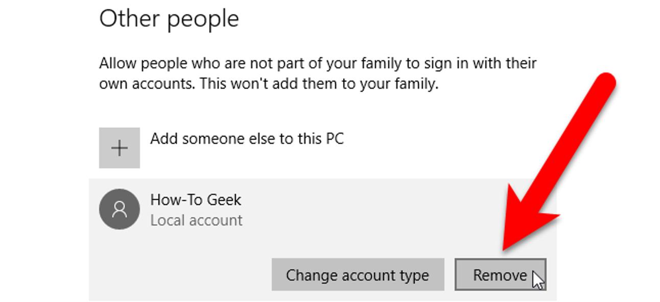So löschen Sie ein Benutzerkonto in Windows 7, 8 oder 10
