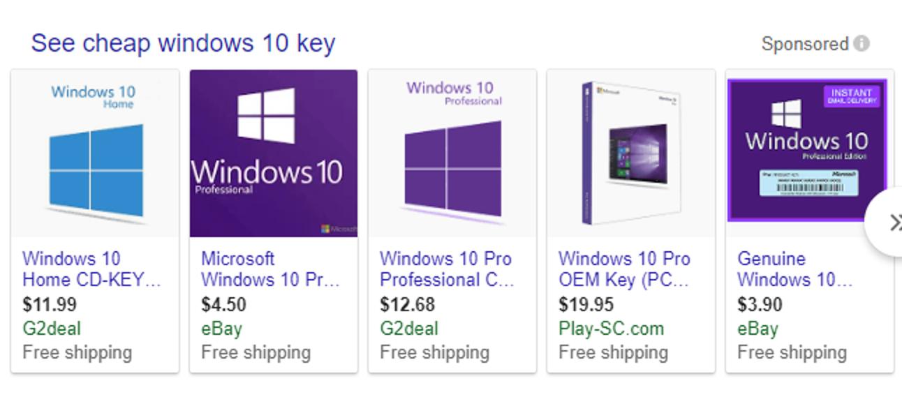 Günstige Windows 10-Schlüssel: Funktionieren sie?