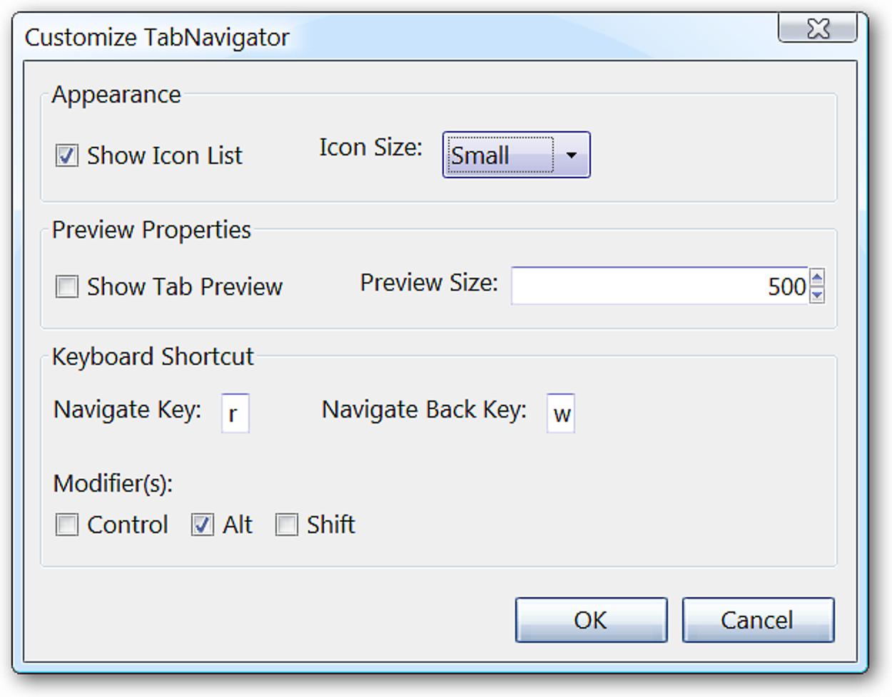 Genießen Sie die Desktop-Navigation im Alt-Tab-Stil in Firefox mit TabNavigator